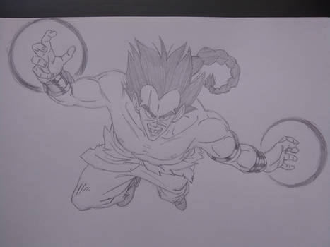 Raditz, 22-years-old (What If Series)