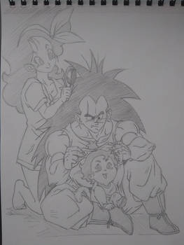 Raditz, Lunch, and Sukirret (What If Series)