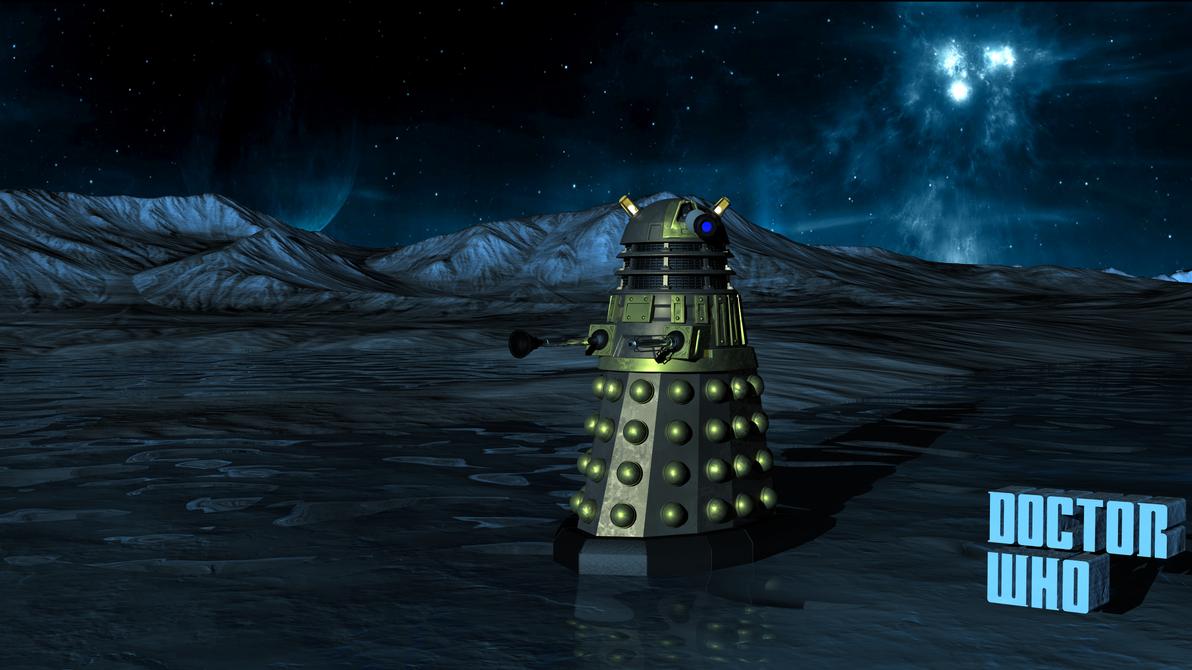 Space Desert Dalek 7K Wallpaper by one-broken-dream