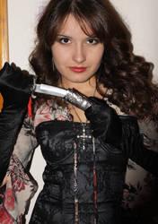 Anna Valery cosplay dagger by LadyBlacklight
