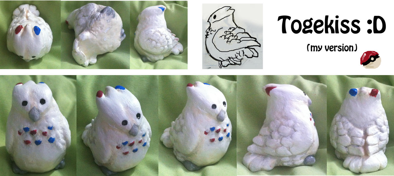 Togekiss Sculpture by Wolveslair