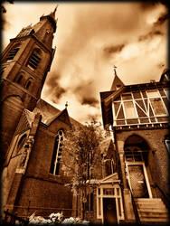 Church and house