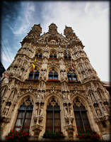 Front face townhall Leuven by pagan-live-style
