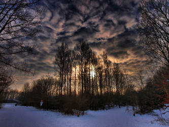 Imaginary winter landscape by pagan-live-style