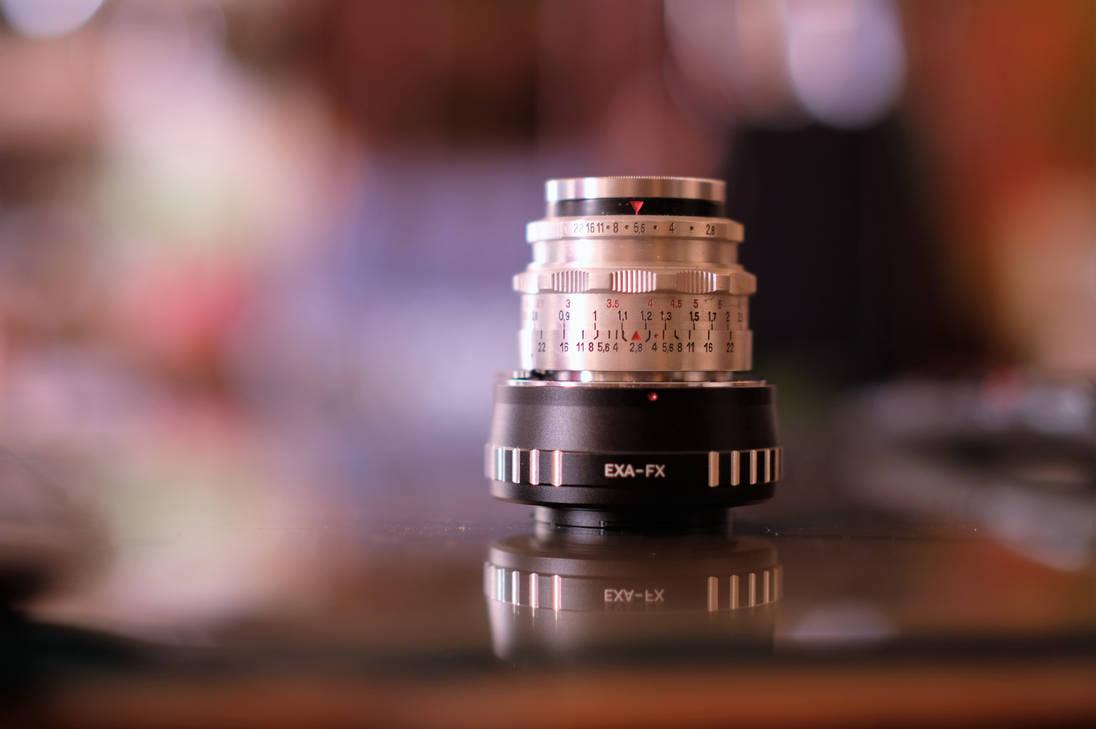 Tessar F2,8 50mm lens aus Jena