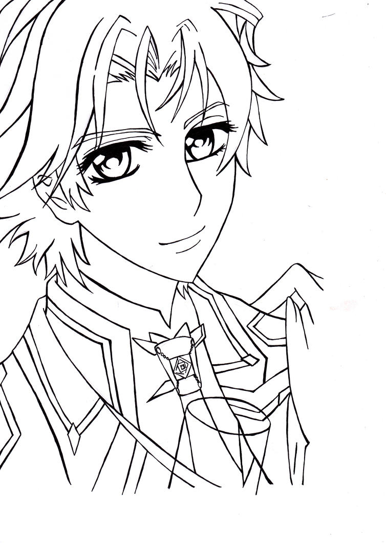 Aidou hanabusa d by shineehello on deviantart for Vampire knight coloring pages