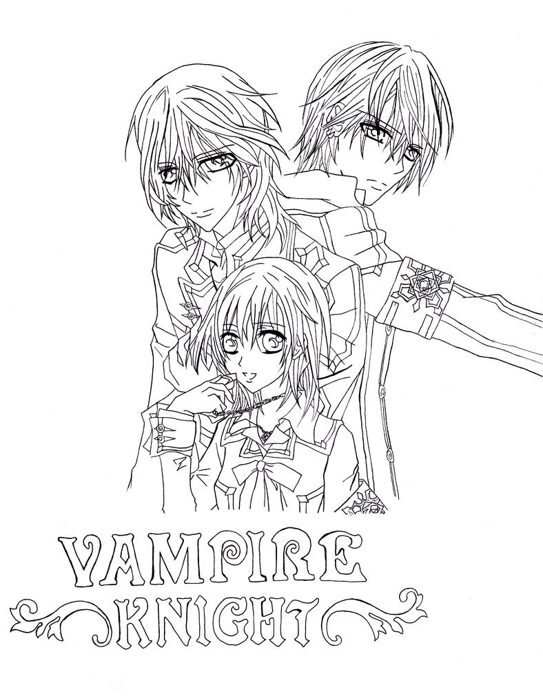 vampire knight fanart by shineehello vampire knight fanart by shineehello on deviantart
