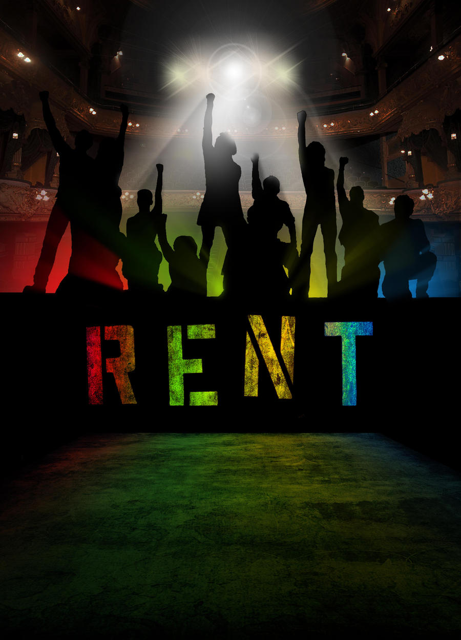 RENT Poster by dark-an...
