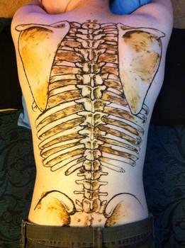 Skeleton Henna