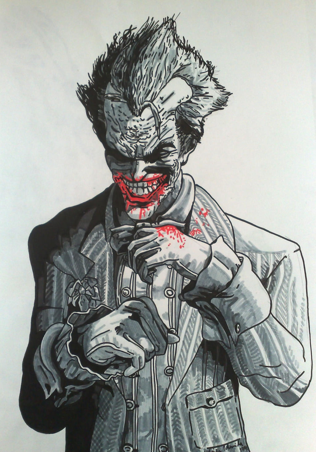 Joker arkham City by GabRed-Hat on DeviantArt
