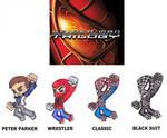 SPIDER-SUITS-(8) Spider-Man Trilogy by GabRed-Hat