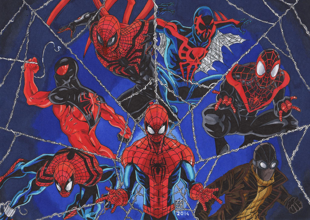 Spiderman Alternatives webs (Colors) by GabRed-Hat on DeviantArt
