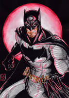 Batman Dawn of Justice (3-colors) by GabRed-Hat