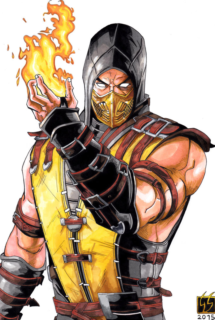 Scorpion  Mortal Kombat Wiki  FANDOM powered by Wikia