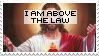 i am above the law by selllout