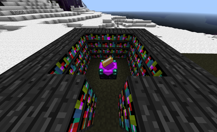 minecraft enchanment table how to get good books