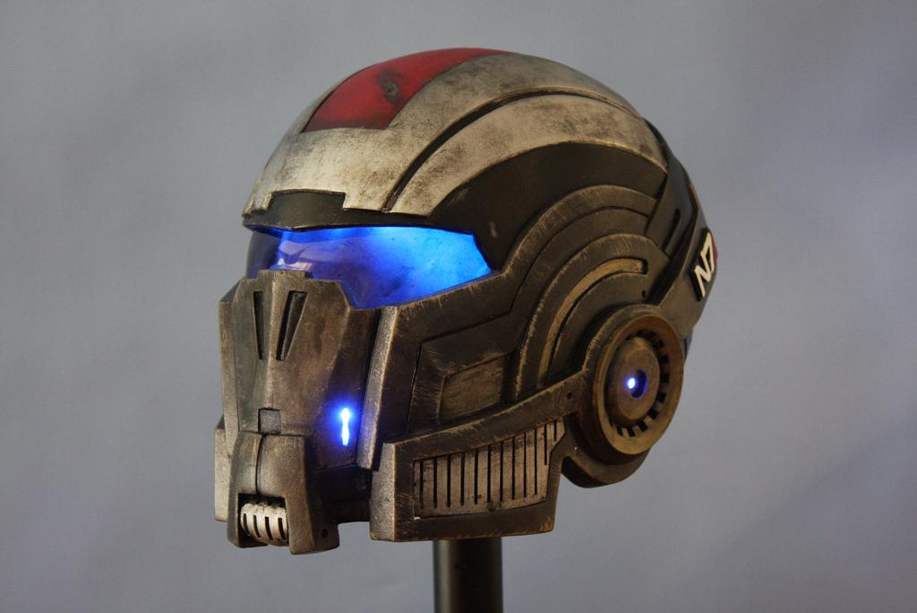 Mass Effect 3: N7 Breather Helmet by JarmanProps