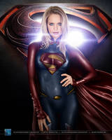 Supergirl #2: Man of Steel version by SilentArmageddon