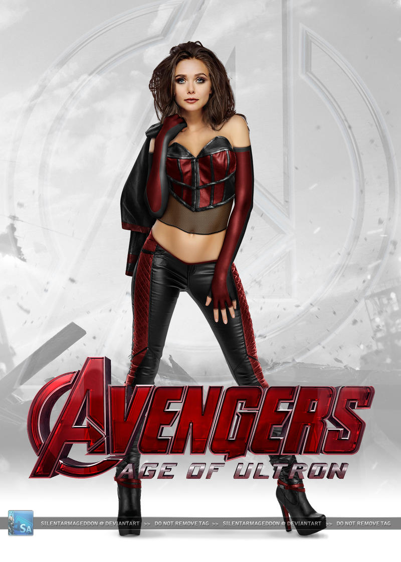 Avengers Age Of Ultron Scarlet Witch By Silentarmageddon On
