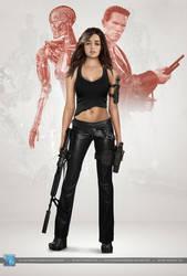 Terminator Genesys: Sarah Connor by SilentArmageddon
