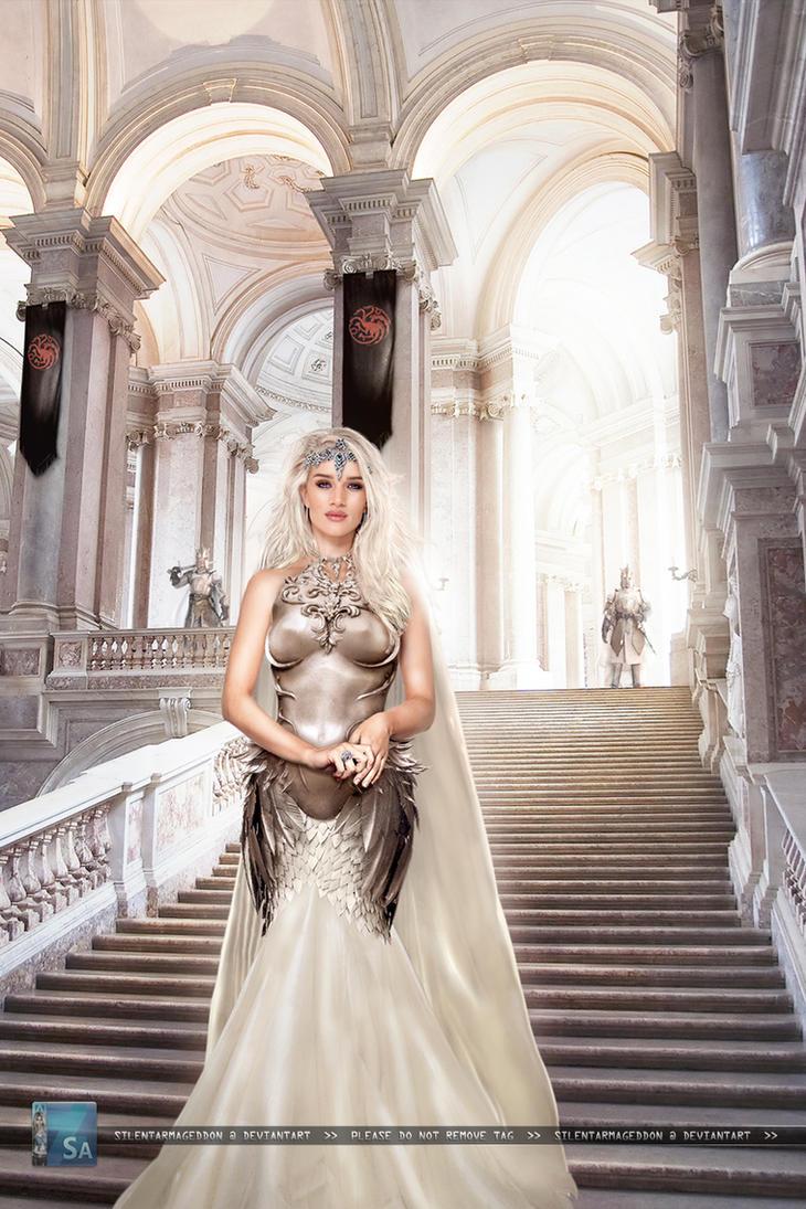 Game of Thrones: Targaryen Princess by SilentArmageddon