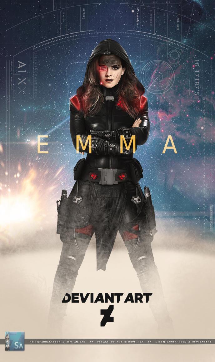 Emma W: Bounty Huntress by SilentArmageddon