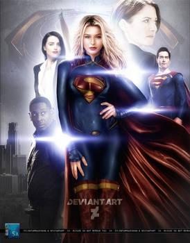 Supergirl: Melissa Benoist   Season 4 Poster