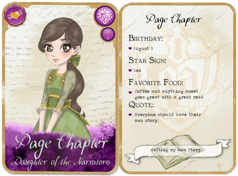 EAH Page Chapter Card By PageChapter