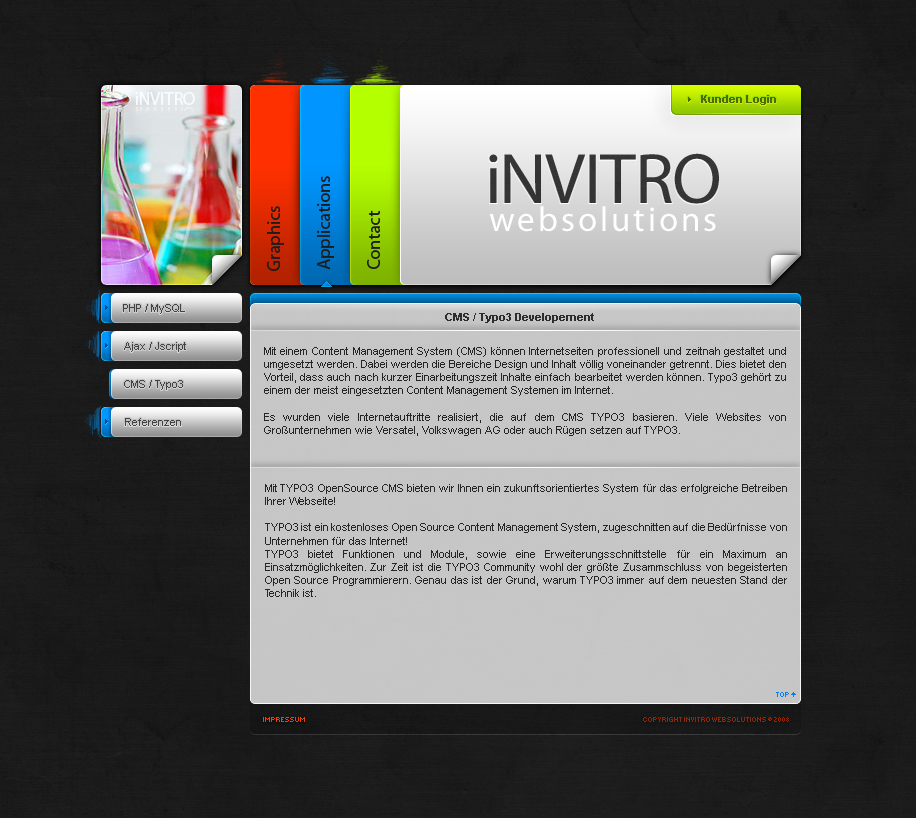 iVITRO websolutions by Razor99