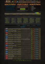 Torrent Site Design by Razor99