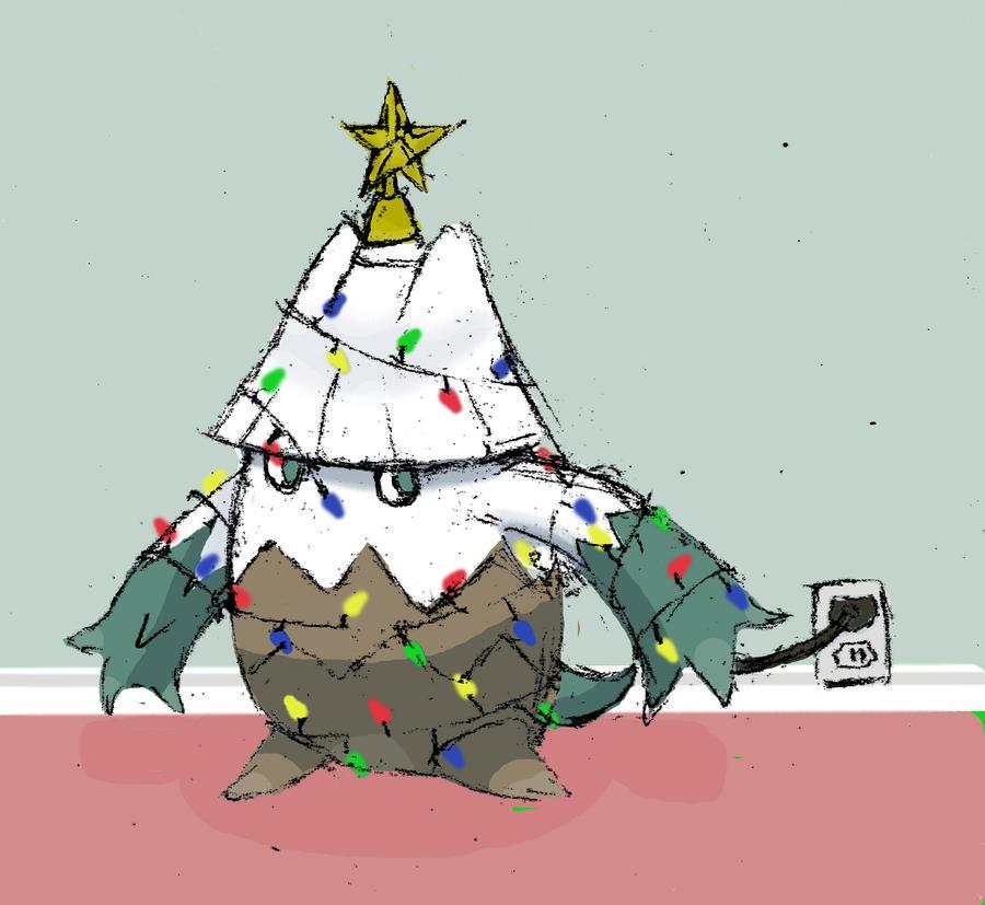 December 4th: The Christmas Tree Pokemon by Talonsword on DeviantArt