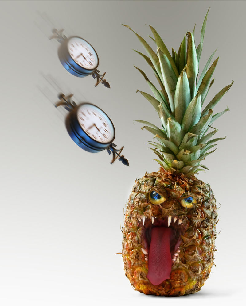 Evil Pineapple under Seige by Devin87