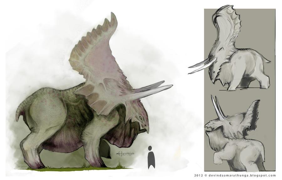 Creature Concept - Taranadon by Devin87