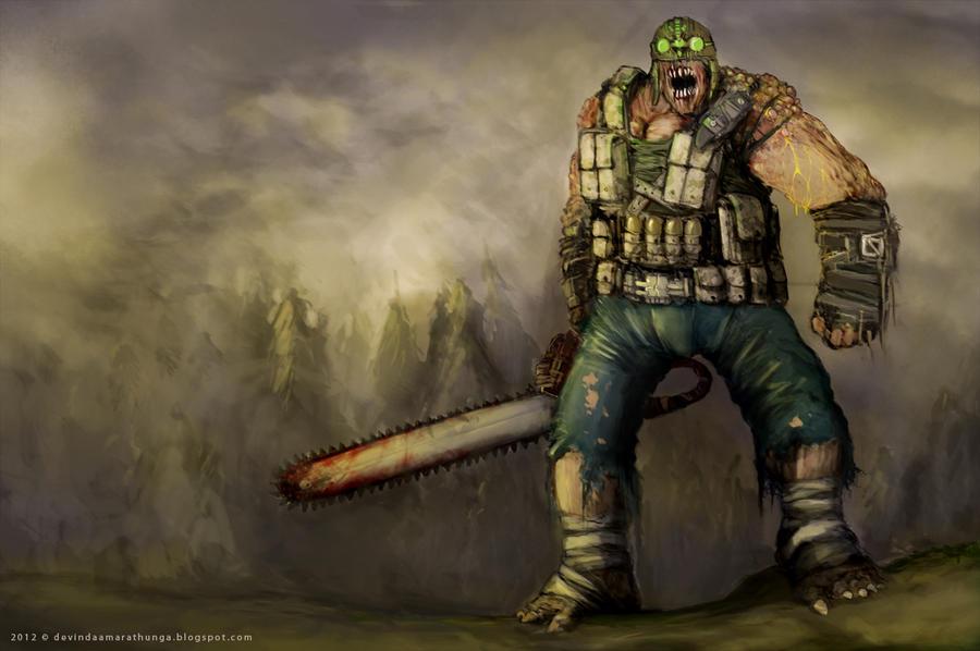 monster texas chainsaw massacre by devin87 on deviantart
