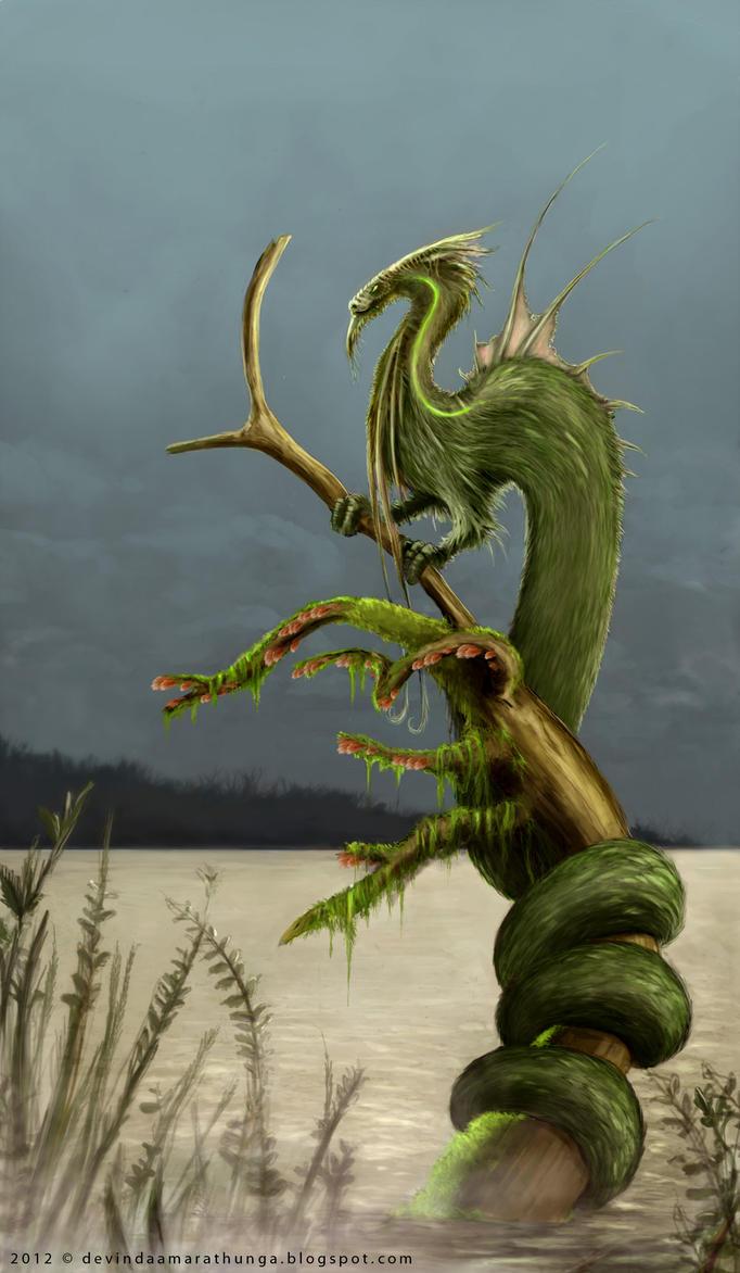 Creature design_Borga Lizard by Devin87