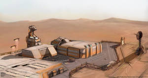 TAU 14 the desert base by Devin87
