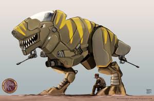Raptor Mech by Devin87