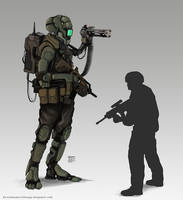 Drone Soldier by Devin87