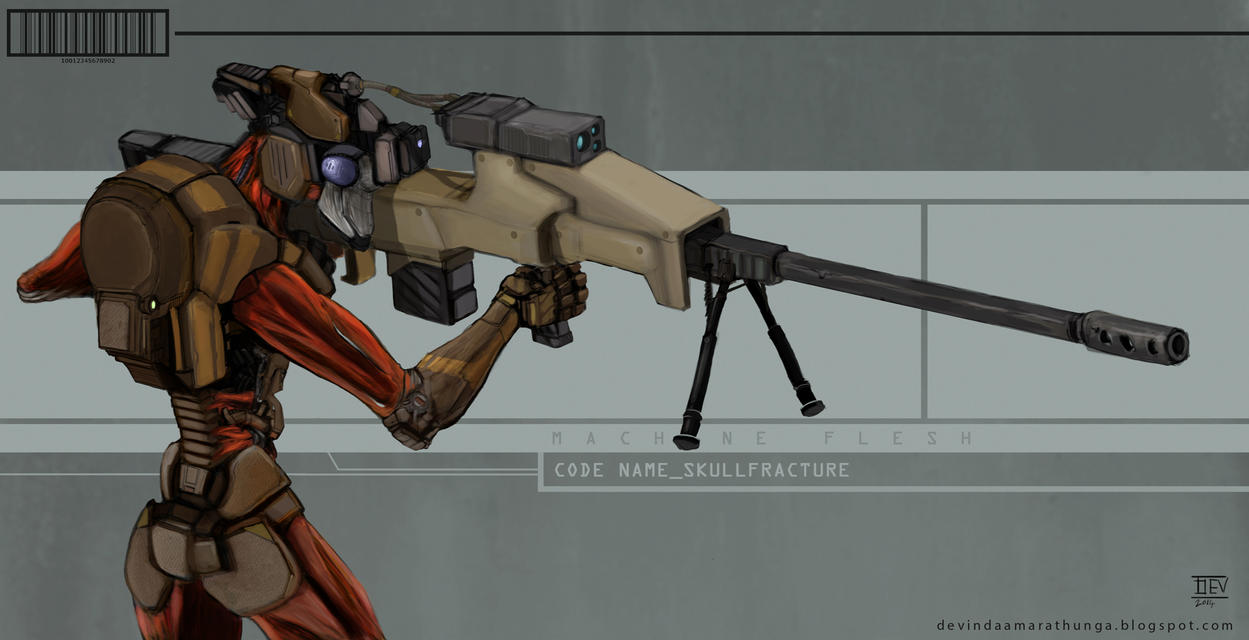 Machine Flesh_Code Name_Skull Fracture by Devin87