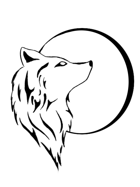 wolf tattoo art. Wolf tattoo