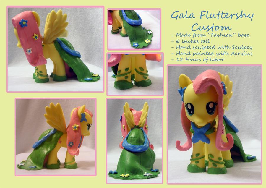 Gala fluttershy custom by wolfpupgrl14