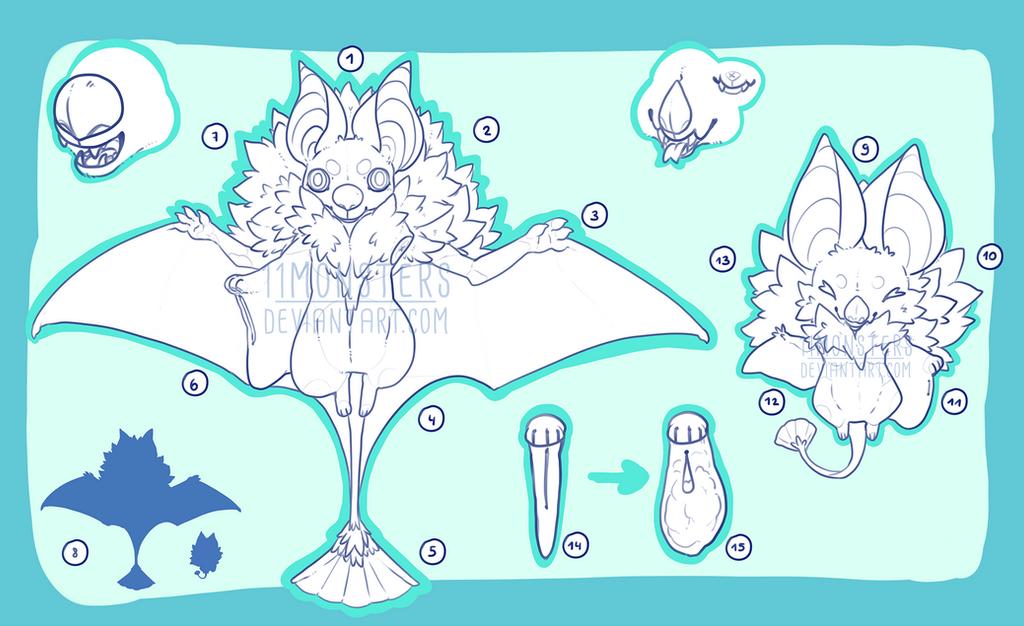 Geisha Bat Anatomy Guide by KngCorvidae on DeviantArt