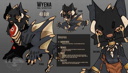 [Adopt] Wyena - closed by KngCorvidae