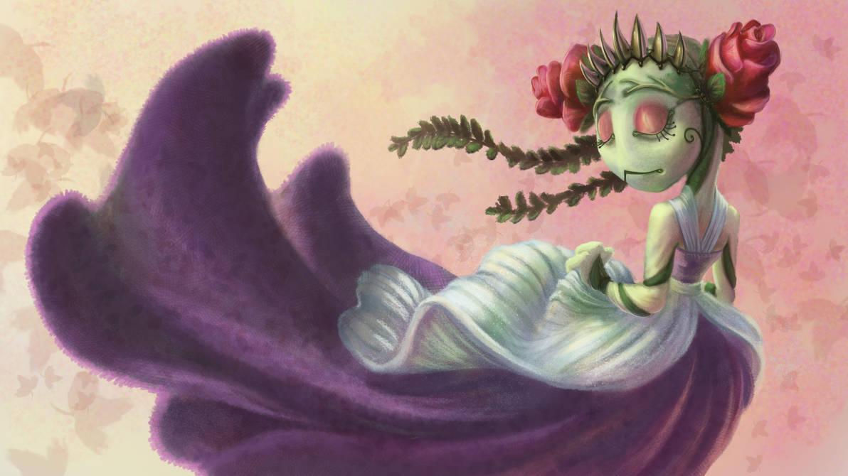 Flower Princess by blaCkATstoryteller