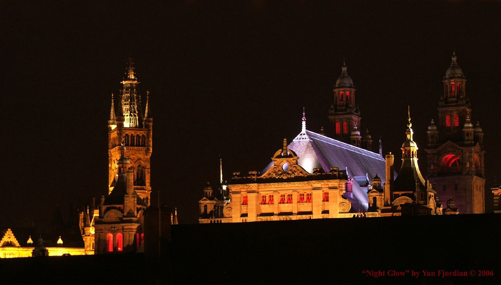 Glasgow Night Glow by Fjordian