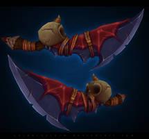 Fantasy dagger by CorderoStorm