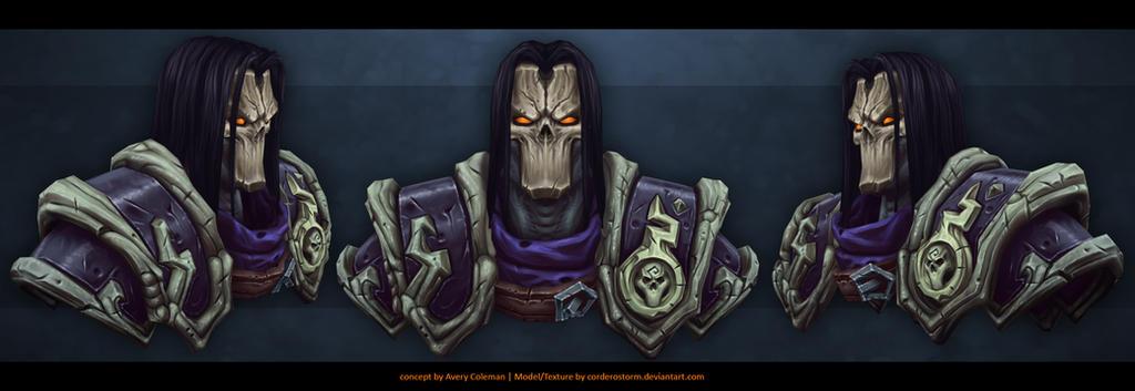 Darksiders 2 Death fanart by CorderoStorm
