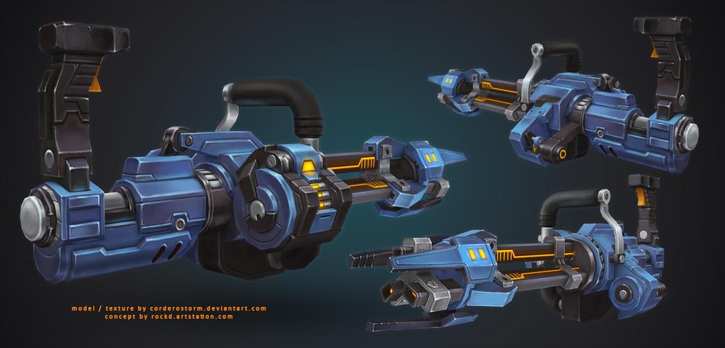 Machine Gun by CorderoStorm