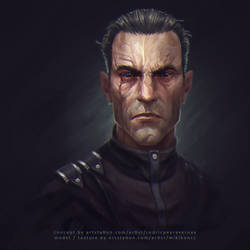 Dishonored - Assassin Daud fan art