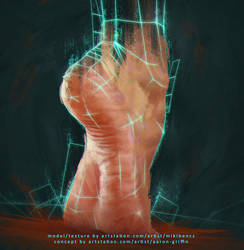 Feet Study by CorderoStorm